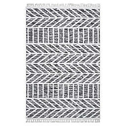 Bee & Willow™ Ava 5'3 x 7'7 Area Rug in Dark Grey