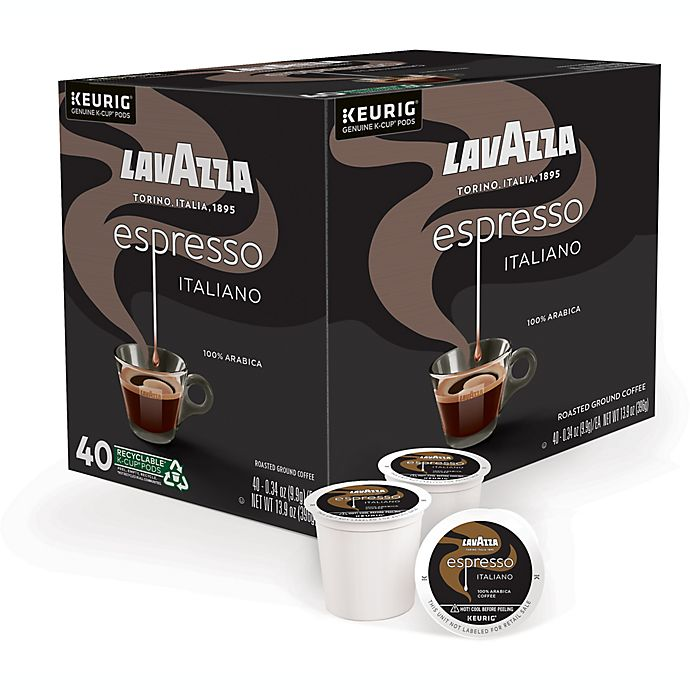Alternate image 1 for LavAzza® Espresso Italiano Coffee Keurig® K-Cup® Pods 40-Count
