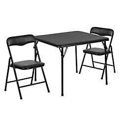 Flash Furniture Kids Folding Table and Chair Set