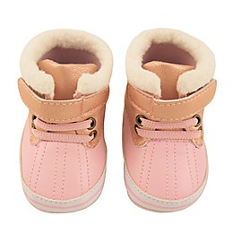 Rising Star Sherpa Duck Boot in Pink