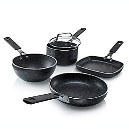 Granitestone Diamond Stackmaster Mini Nonstick Aluminum 5-Piece Cookware Set