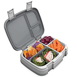 bentgo® 39.8 oz. Fresh Box Portable Lunch Box in Grey