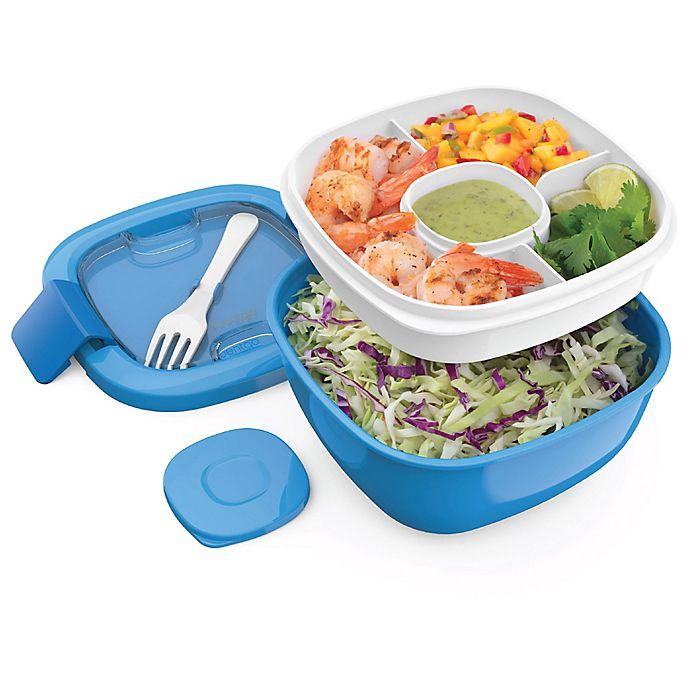 Alternate image 1 for bentgo® 54 oz. Salad Container in Blue
