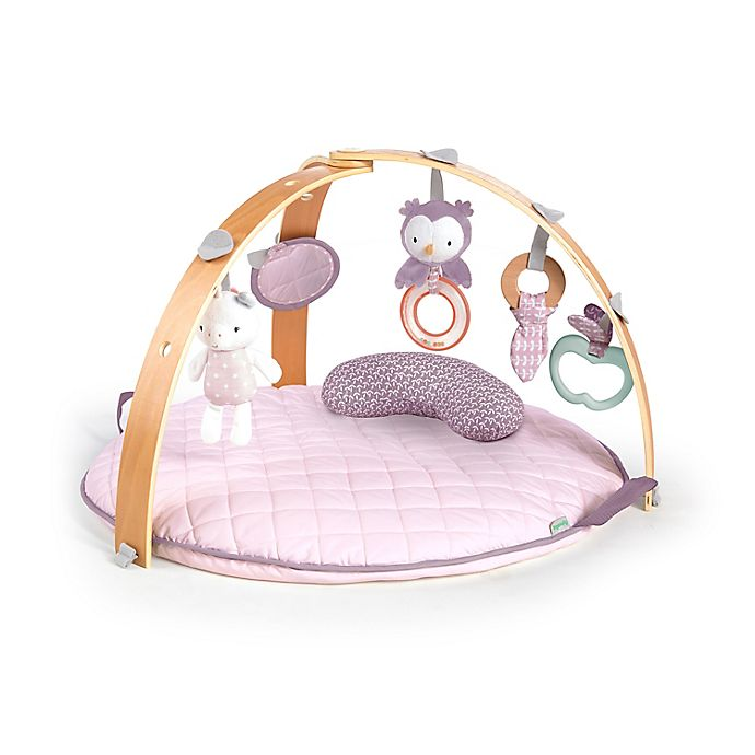 Alternate image 1 for Ingenuity™ Cozy Spot Reversible Activity Gym in Calla