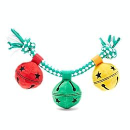 BARK Gnawty or Nice Slay Bells Christmas Dog Toy