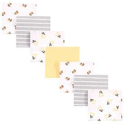 Hudson Baby® Ya Dig 7-Pack Receiving Blanket in Yellow