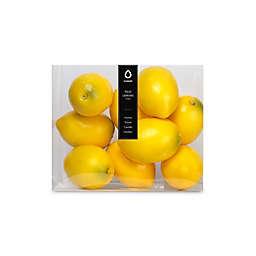 Vunder Plastic Filler Lemons in Yellow (Set of 10)