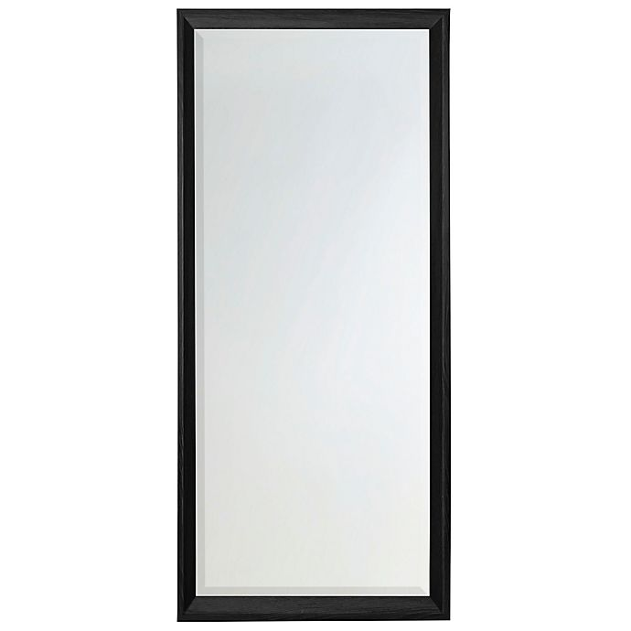 Alternate image 1 for 30-Inch x 70-Inch Floor Mirror in Black