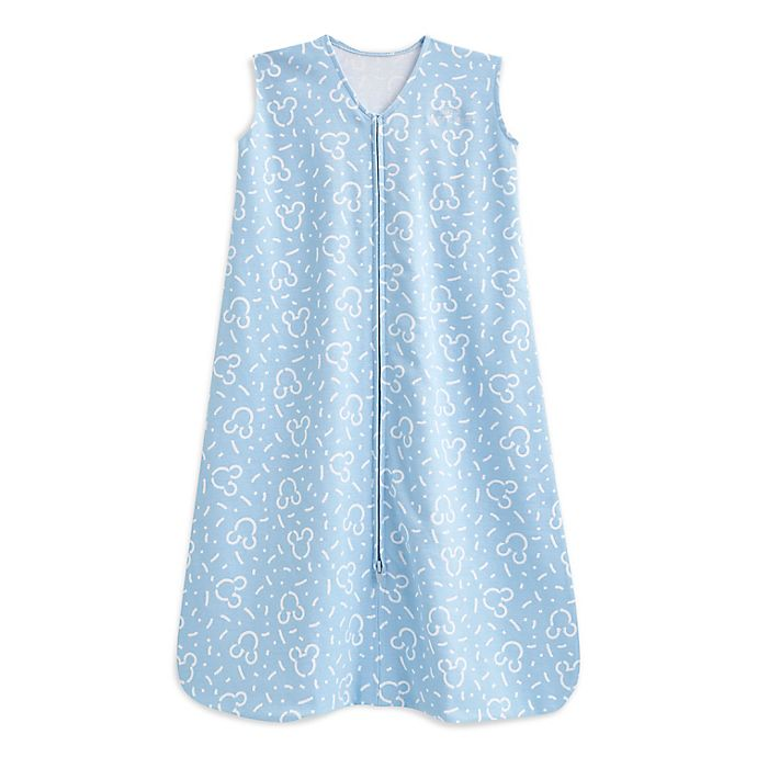 Alternate image 1 for HALO® Disney® Large Confetti Mickey SleepSack® in Blue