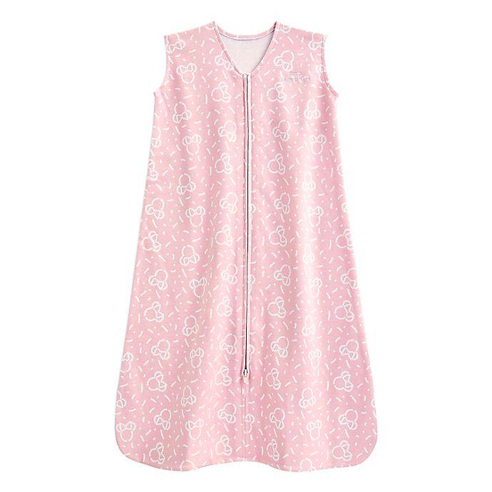 Alternate image 1 for HALO® SleepSack® Minnie Wearable Blanket in Pink