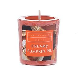 Heirloom Home Creamy Pumpkin Pie Votive Candle
