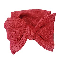 NYGB™ Newborn Large Bow Headband in Red