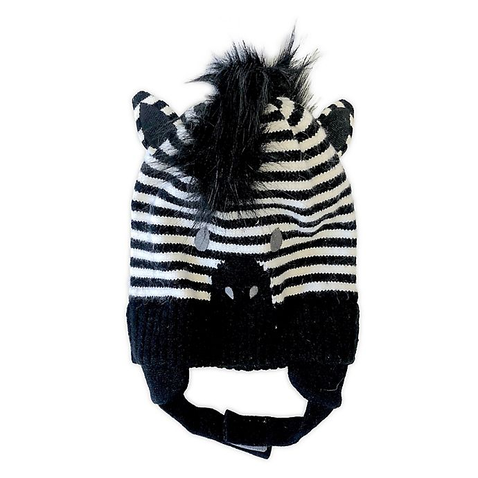 Alternate image 1 for NYGB™ Zebra Hat in Black