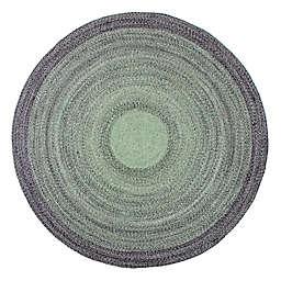 Anji Mountain® Frango Round Rug in Green/Grey