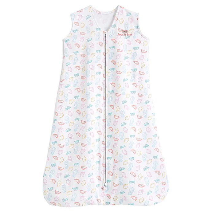 Alternate image 1 for HALO® SleepSack® Medium Fruity Wearable Blanket in Grey