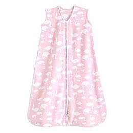 HALO® SleepSack® Swan Fleece Wearable Blanket in Pink