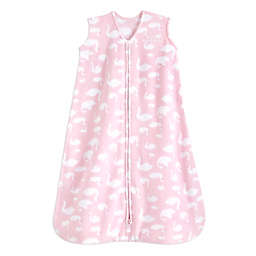 HALO® SleepSack® Swan Fleece Wearable Blanket in Pink