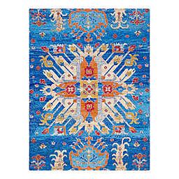 Anji Mountain® Las Cruces 3' x 4' Multicolor Rug'd Chair Mat