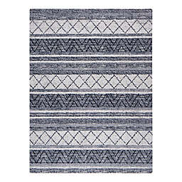 """Anji Mountain® Alesund Handcrafted .25"""" Rug'd Chair Mat in Grey"""