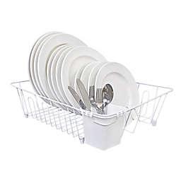 SALT™ Large Dish Rack in White