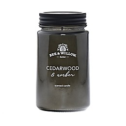 Bee & Willow™ Home Cedarwood and Amber Mason Jar Candle