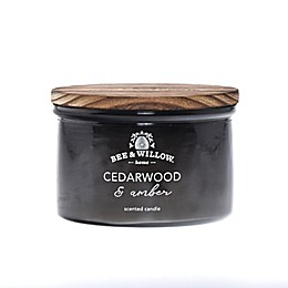 Bee & Willow™ Home Cedarwood and Amber Dish Candle