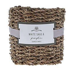 Bee & Willow™ Home Sage & Pumpkin Medium Candle in Green