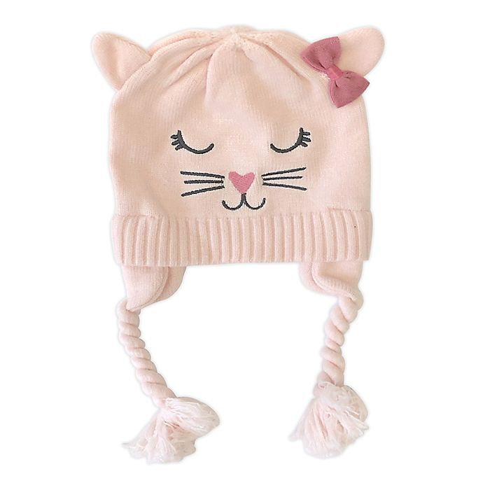 Alternate image 1 for NYGB™ Norah Cat Critter Hat in Pink