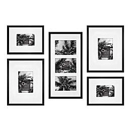 O&O by Olivia & Oliver™ 5-Piece Oversized Picture Frame Set in Black