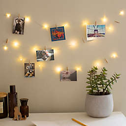 Kikkerland Design 8-Foot LED Photo Clip String Lights