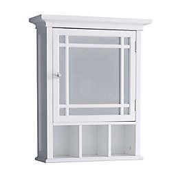 Elegant Home Fashions Hadley Medicine Cabinet in White