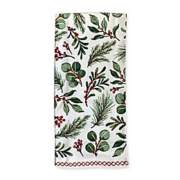 Merry Christmas Wreath Kitchen Towels (Set of 2)