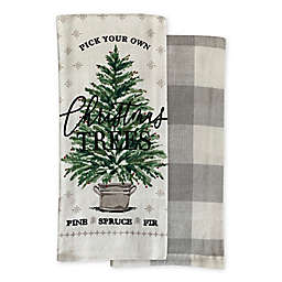 Farmhouse Tree Kitchen Towels (Set of 2)