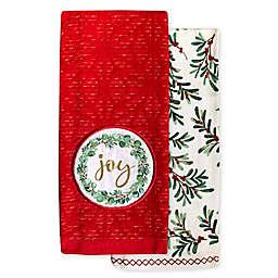Joy Patch Kitchen Towels (Set of 2)
