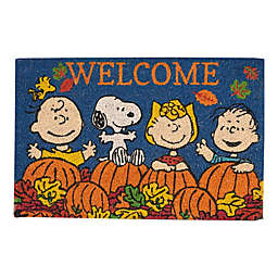 "Peanuts 18"" x 28"" Snoopy and the Gang Fall Doormat"