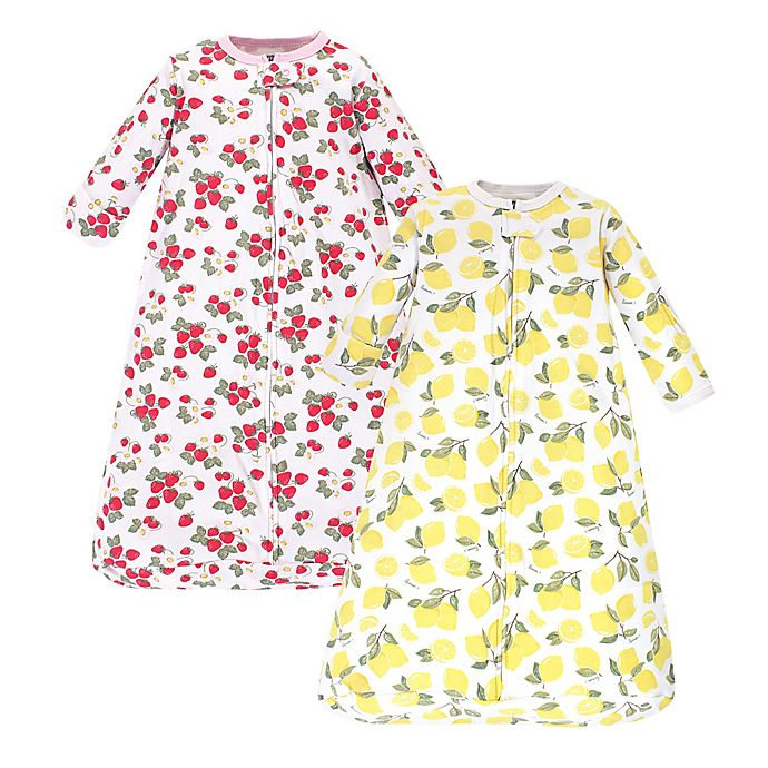 Alternate image 1 for Hudson Baby® 2-Pack Long Sleeve Sleeping Bag