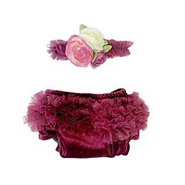 Toby Fairy™ Newborn 2-Pack Velvet Berry Diaper Covers