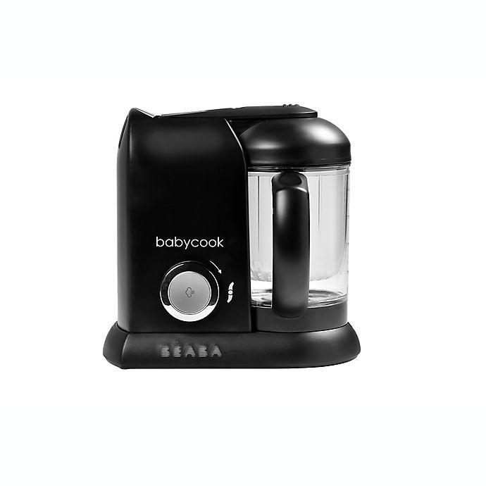 Alternate image 1 for BEABA® Babycook Baby Food Maker in Black