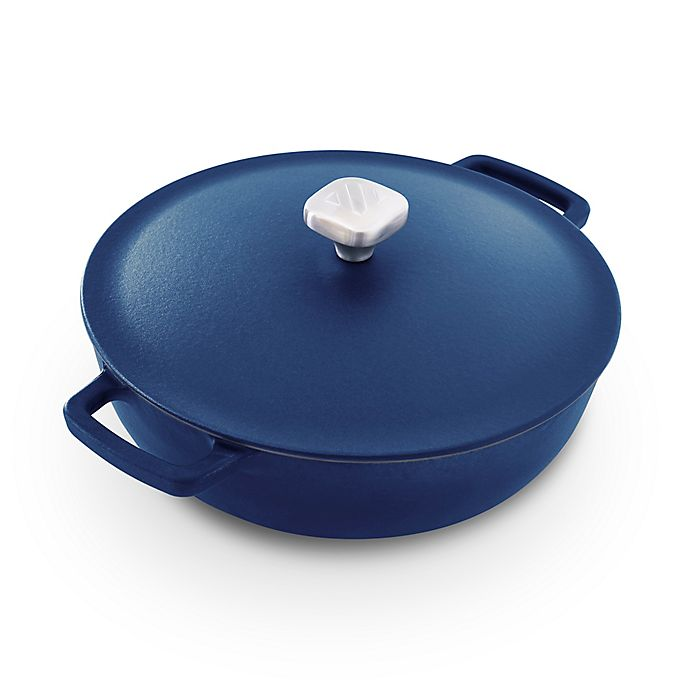 Alternate image 1 for Zakarian Nonstick Cast Iron 4.5 qt. Covered Braiser