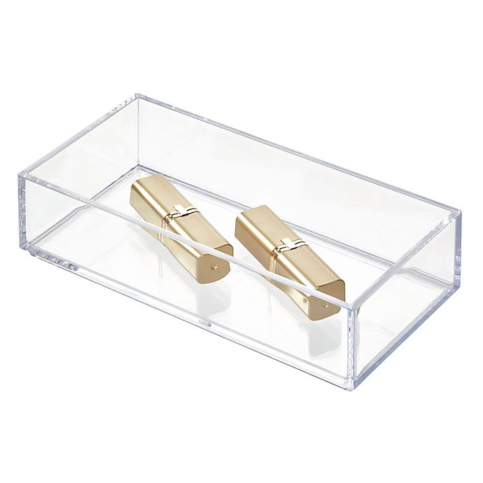 Alternate image 1 for iDesign™ Stackable Cosmetic Organizers