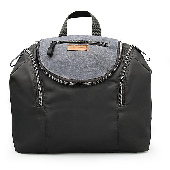 Alternate image 1 for Goldbug™ 6-in-1 Diaper Backpack & Travel Organizer in Black