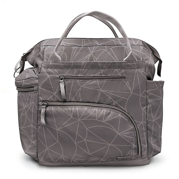 Alternate image 1 for goldbug™ Wide Frame Diaper Bag Backpack