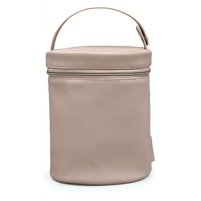 Alternate image 1 for goldbug™ Portable Bottle Bag in Pink