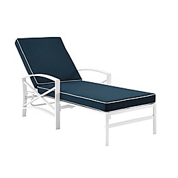Crosley Kaplan All-Weather Steel Outdoor Chaise Lounge