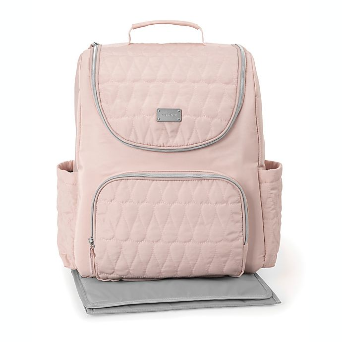 Alternate image 1 for carter's® Ready to Go Diaper Backpack in Pink