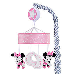 Lambs & Ivy® Minnie Mouse Musical Mobile in Pink/White