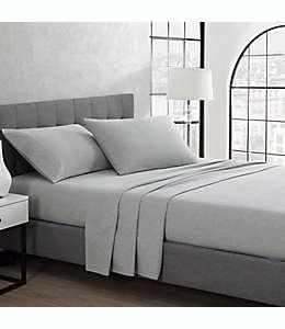 Set de sábanas king de algodón UGG® color gris brezo