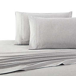 UGG® Flannel Standard/Queen Pillowcases in Heather Grey (Set of 2)