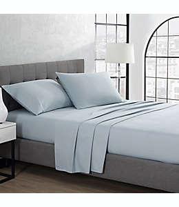 Set de sábanas king de franela UGG® color azul