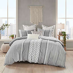 INK+IVY Imani 3-Piece King/California King Duvet Cover Set in Grey